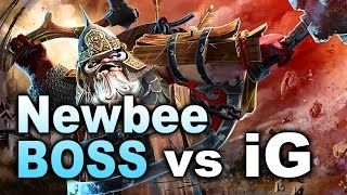 Newbee.Boss vs iG - Competitive Debut - DAC 2017 Dota 2