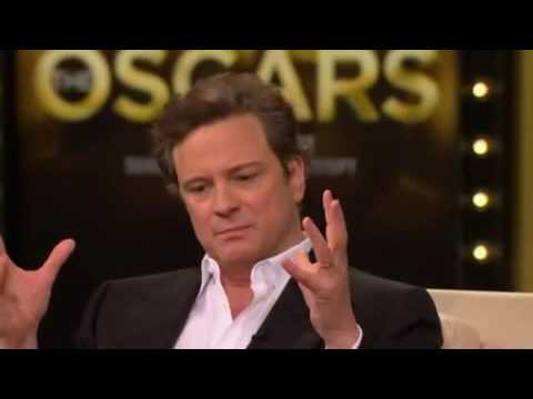 Colin Firth on the Phone Call  and the Fridge Guy Who Acted like a 'Guardian Angel' :