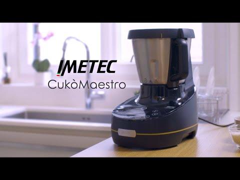 Imetec CukòMaestro – Robot da cucina multifunzione con cottura