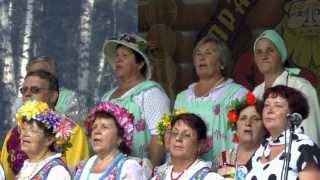 Праздник топора Хор села Зоркальцево 11 августа 2013