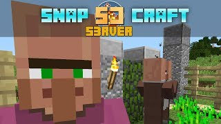 SnapCraft #04 :: Hodowla NPC (?!) MacKrafter Sabotuje! SZOK! (scenki na koniec)