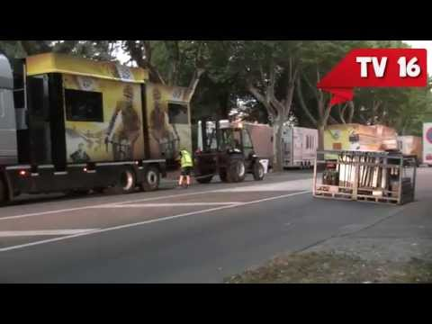 Installation du Tour de France dans les Hautes-Alpes - TV16