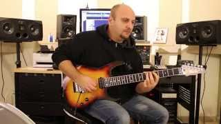 Marco Sfogli playing solo for OVERWIND