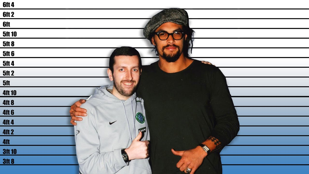 How tall is Jason Momoa? Real Height Revealed - YouTube