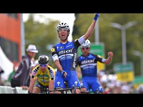 Maxi Richeze logró una espectacular victoria en la Vuelta de Suiza