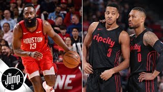 Can Trail Blazers advance past James Harden, Rockets?   The Jump