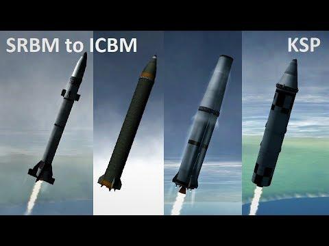 Space Race KSP - SRBM to ICBM - Pure Stock Replicas
