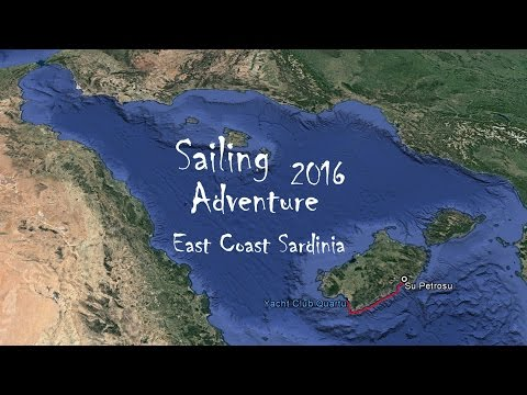 Sailing Adventure 2016 - East Coast Sardinia