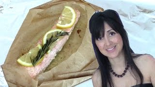 Salmon In Parchment For Fish Haters // Tasty Bit 80