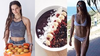 WHAT I EAT VEGAN TO STAY FIT, LEAN & HEALTHY + calories & nutrition