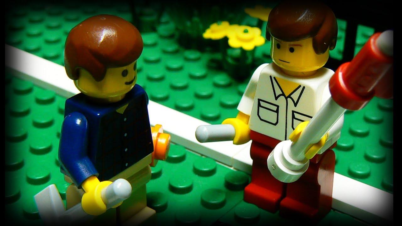 Lego Car Crash Videos