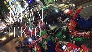 Japan: Days 1&2- Tokyo