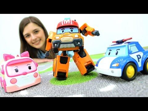 ToyClub шоу - Робокары Поли и Эмбер - ищем игрушки!