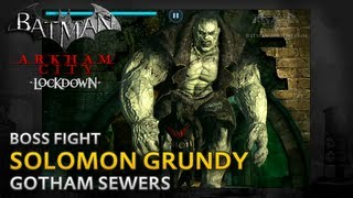Batman: Arkham City Lockdown - Walkthrough - Solomon Grundy Boss Fight