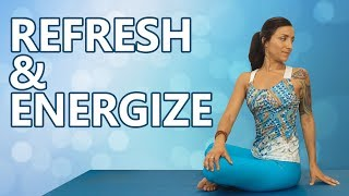 Refresh & Energize! Daily Morning Yoga Routine for All Levels, Gentle Stretches to Boost Energy!