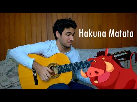 Hakuna Matata - Fingerstyle Guitar by Marcos Kaiser #49