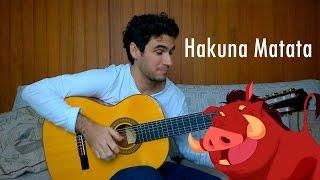 Hakuna Matata - Fingerstyle Guitar by Marcos Kaiser #49 Resimi