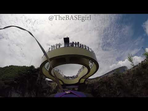BASE Jumping Close Call China
