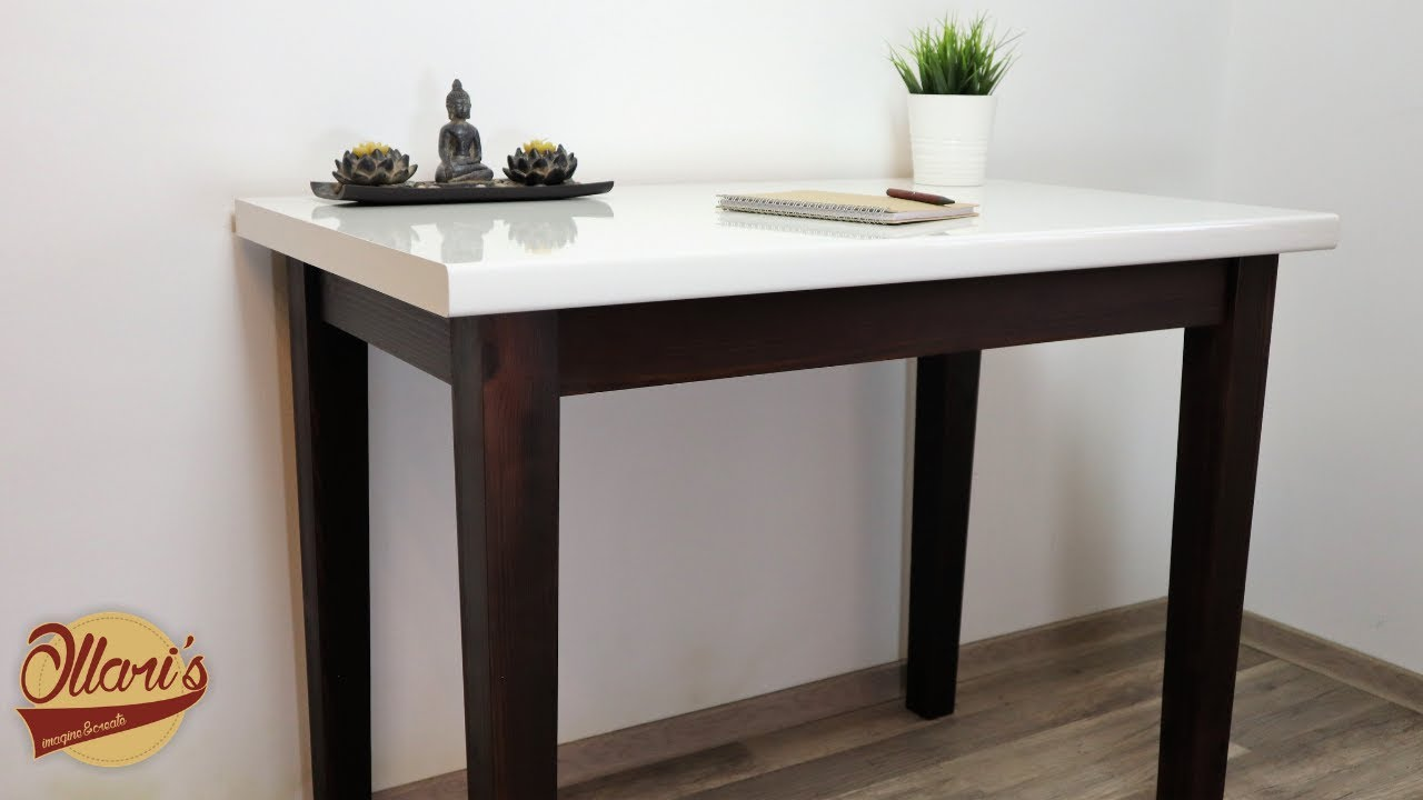 Making A Simple Desk With Hidden Drawer