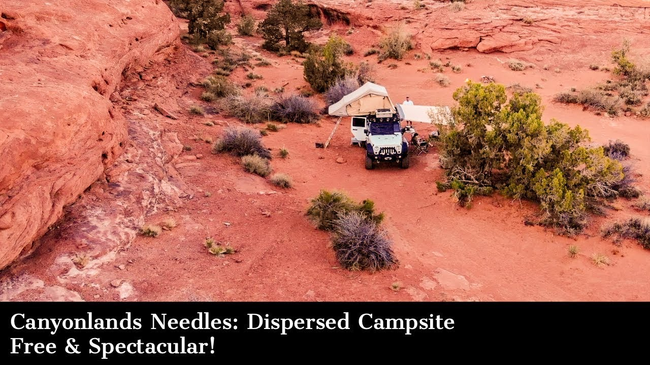 Canyonlands Needles District: Dispersed Campsite - Free & Spectacular!
