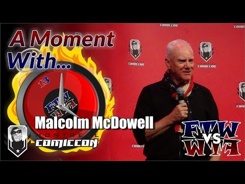 A Moment With... Malcolm McDowell on being friends with Sir Patrick Stewart and William Shatner