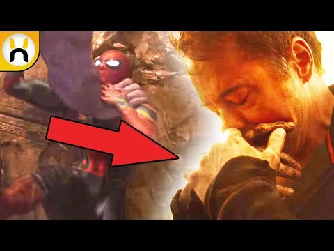 Who Is Tony Holding Theory   Avengers Infinity War