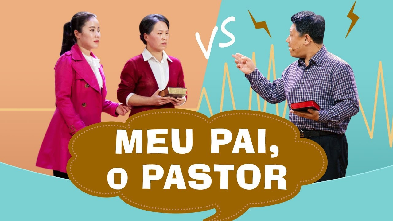 """Melhor esquete cristã """"Meu pai, o pastor"""" (Completo dublado)"""