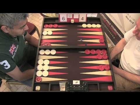 The Backgammon London Open 2013: Feature Match 10 - Raj Jansari VS Julien Fetterlein