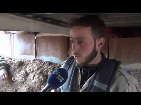 جيش الإسلام يتصدى لمحاولة إقتحام من قبل النظام على محور دوما_حرستا  - 18:21-2018 / 1 / 15