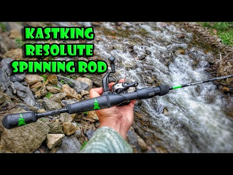 KastKing Resolute Spinning Fishing Rod With American Tackle Microwave Guides