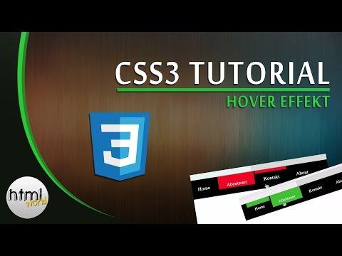 CSS 3 Tutorial: Cooler Hover Effekt Mit Transition // Deutsch