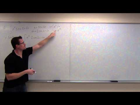 Calculus 2 Lecture 71:  Integration  Parts
