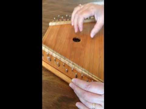 Black Muddy River Played On A Zither Lap Harp Youtube