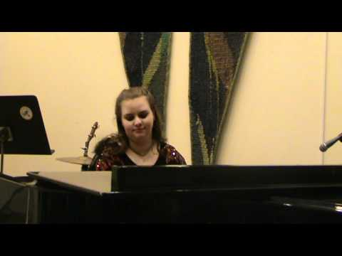 Martina Hansen @ Staffanstorps Musikskola - Lunar Sonata