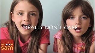 Repeat youtube video REALLY DON'T CARE - DEMI LOVATO FT CHER LLOYD