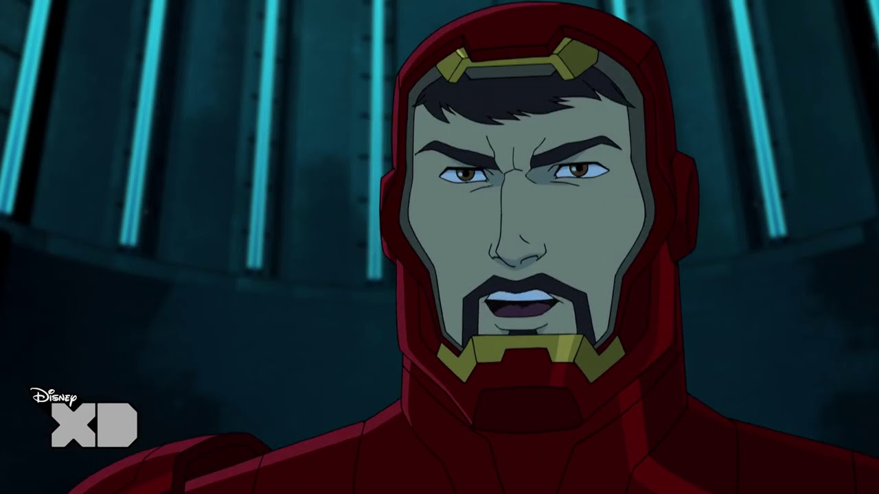 Avengers Assemble Black Widow Vs Iron Man Official Disney