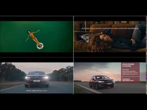 Música comercial novo Citroën C4 Lounge - Conforto que move você.