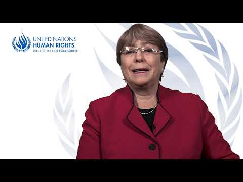 Statement by UN High Commissioner for Human Rights Michelle Bachelet