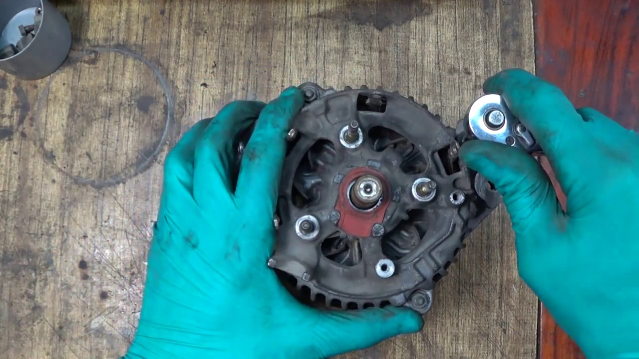 Ремонт генератора 3s-fe. Замена подшипников и щеток. Generator repair 3S-FE.