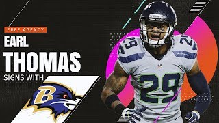 Earl Thomas signs with Baltimore Ravens!