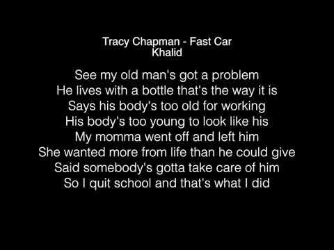 Khalid - Fast Car Lyrics (Tracy Chapman) in the Live Lounge