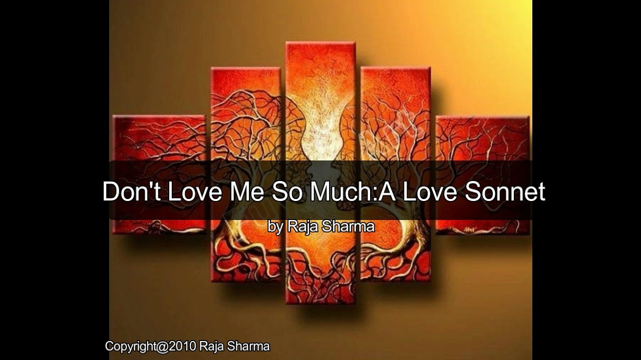 Do not love me so much indian drama series