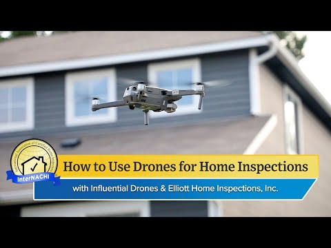 How to Use Drones for Home Inspections