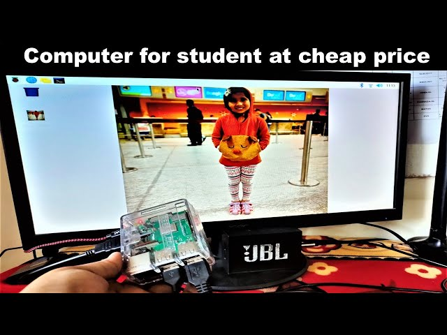 How to make a cheap computer for student use | Cheap computer | raspberry pi | LearnWithPari