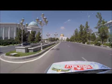 The Mongol Rally: Tour of Ashgabat