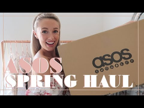 ASOS SPRING HAUL & TRY ON // SPRING 2019 // Fashion Mumblr