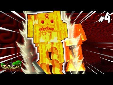 WE FOUND A MEGA BLAZE !! - The Divide : Minecraft xbox [04]