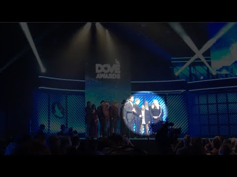 Wally Crashes the Stage at the Dove Awards