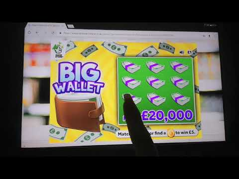 Online Scratchcards From Uk Lotto !!