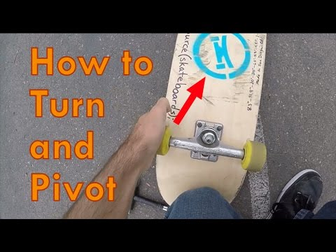 1.2: How to Turn and Pivot - Freestyle Skateboarding Lessons
